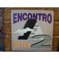 Vinil Lp Gospel Encontro - Actos 2 - Com Encarte