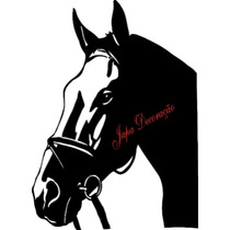 Adesivo Decorativo Cavalo Negro