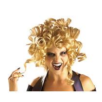 Peluca Rubia De Halloween Para Disfraz De Risitos Dorados