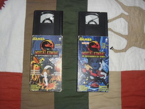 Mortal Kombat - Os Defensores Da Terra + Dragon Ball - R$ 59,00 ...