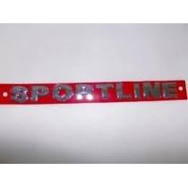 Emblema Cromado Sportline(parati/saveiro/polo/golf)