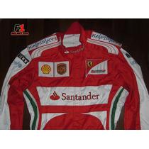 Macacão F1 Fernando Alonso 2013 Ferrari -formula 1