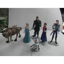 Coleccion De 6 Personajes De Disney Frozen