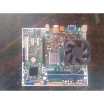 Placa Mae 775 Ddr2 Hp Ms-7525 + Dual Core E2180