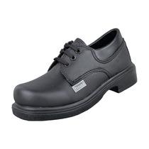 Zapato Colegial De Vestir Con Cordón Unisex Livianos