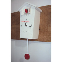 Relógio Parede Cuco E Canto De Pássaros Novo Herweg