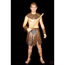 Fantasia Soldado Romano Gladiador Guerreiro Performer Angels