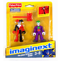 Dc Imaginext Joker & Harley Quinn Coringa Pronta Entrega