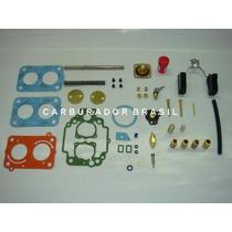 Kit De Reparos Weber Tldz Vw / Ford / Tldz Carburador Brasil
