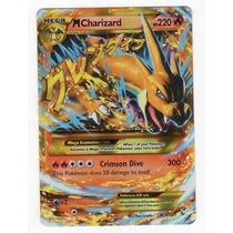 Carta Pokémon Mega Charizard Y 107/106 Português