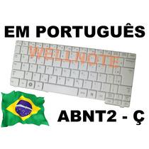 Teclado Branco Português Para Netbook Samsung Np-n150-jp02br
