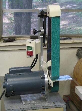 Coote belt grinder motor
