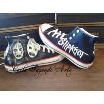 Tênis All Star Converse Slipknot Personalizado