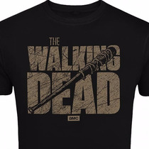 Playera The Walking Dead, Series, Negan, Zombies,