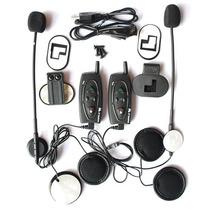 Intercomunicador Capacete Bluetooth Moto 2x Bt V2 500 Metros