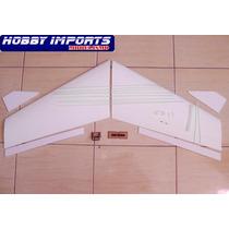 Kit Asa Zagi 120cm T5 + Montante Motor + Linkagem Completa +