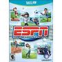 Jogo Espn Sports Connection Original Para Nintendo Wii U