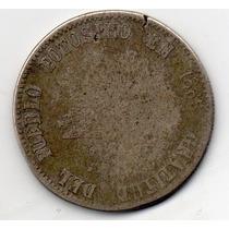 Melgarejo De Prata De 1865-20 Gramas