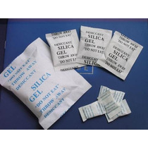 Silica Gel Branca- Pacote Com 5 Sachês De 100g