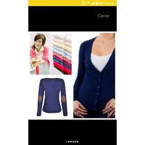 Suéter Con Parches Para Dama Mayoreo