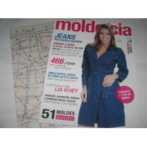 Revista Molde E Cia N. 56 - 51 Moldes Corte E Costura Jeans
