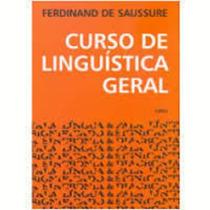 Livro Curso De Linguistica Geral Ferdinand De Saussure