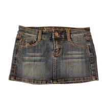 Ropa Damas Casual Falda Corta Jeans H & G