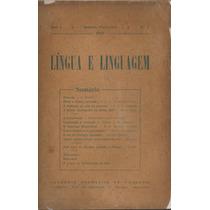 Revista Língua E Linguagem - Número 1 - 1947