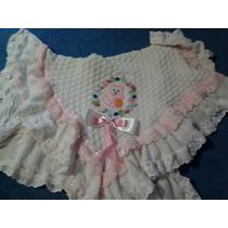 Manta Bebê Saída De Maternidade Trico Lã