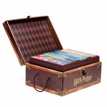 Harry Potter Colección De 7 Libros Pasta Dura Cofre Ingles