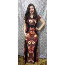 Vestidos Femininos Evangélicos De Viscolycra Longo Modelador