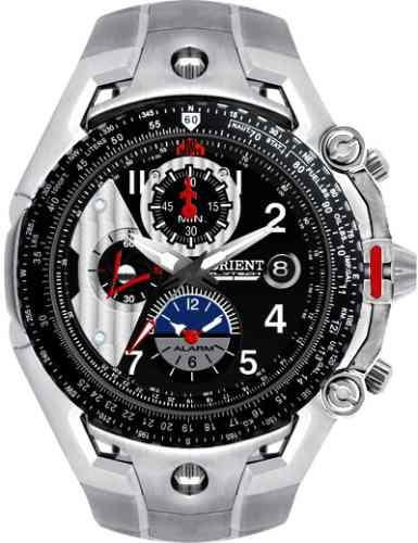 8efc191ea4c Relógio Orient Flytech Masculino Mbttc001 Titanio - R  1.199