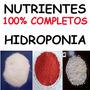 * O Melhor * Kit Nutrientes Completo Hidroponia Fertilizante