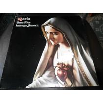 Lp Vinil Gospel Evangélico - Maria Uma Flor Imenso Amor
