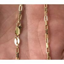 Corrente Cordão Cartier De Ouro 18k 60cm 7,3gr 3mm
