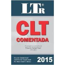 Clt Comentada Ltr 2015. Produto Novo E Lacrado!