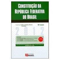 2012 - Constituição Da República Federativa Do Brasil