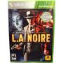 L.a Noire, Para X- Box 360 Fisico Y Sellado-minijuegosnet
