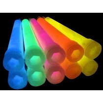 10 Barras Neon Glow Cyalume Para Fiesta Evento