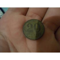Moeda 20 Centavos 1945 Getúlio Vargas
