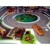 Mega Tapete Pista Para Brincar Carrinho Hot Wheels 2,00x1,00