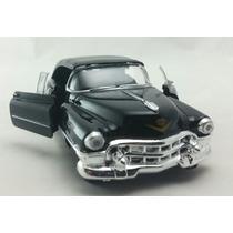 Miniatura Cadillac Eldorado 1953 Preto Com Capota