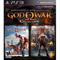 God Of War Collection Juego Digital Ps3 Playstation !