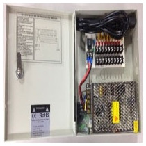 Fuente De Poder Dahua Regulada / 12v 10 Amperes/ Distribuido