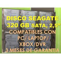 Disco Duro 320 Gb Sata 2.5 - Pc Y Laptops- Somos Tienda