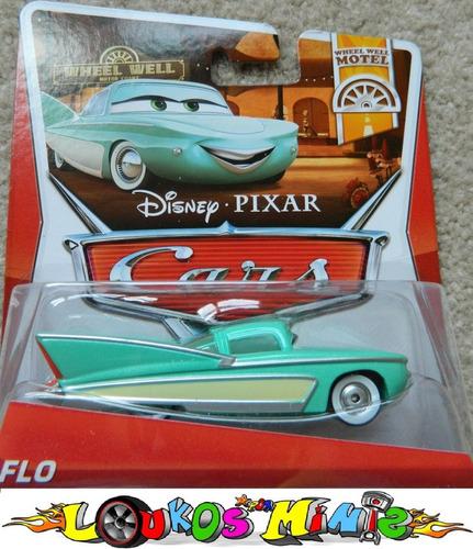 Disney Cars Flo Cadillac 1959 Lacrado Mattel Pronta Entrega R 49