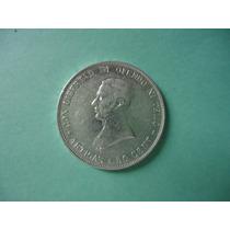 Moeda Uruguaia 50 Centesimos Prata 1917 Mbc/sob