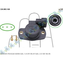 Sensor Posição Borboleta Logus 2.0 8v Gasolina 94/95 - Vdo