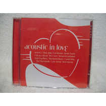 Cd Acoustic In Love- Som Livre