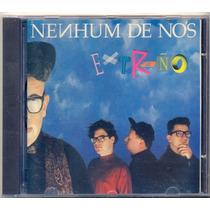 Cd Nenhum De Nós - Extraño - 1990